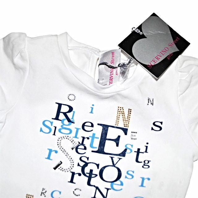 Фото 2: Светлая футболка SCERVINO Street для маленьких детей