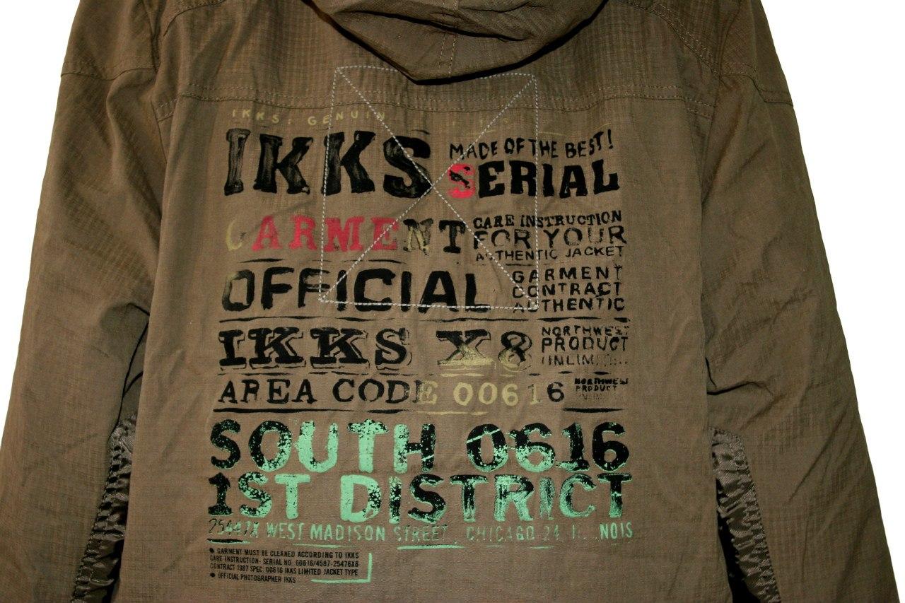 Фото 2: Удлиненная куртка-парка IKKS для мальчиков