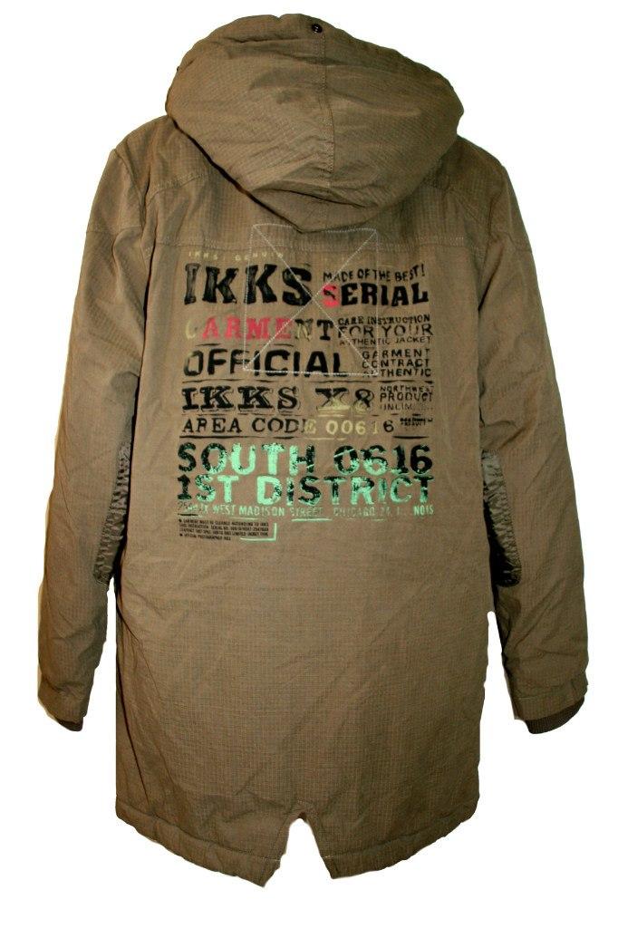 Фото 3: Удлиненная куртка-парка IKKS для мальчиков