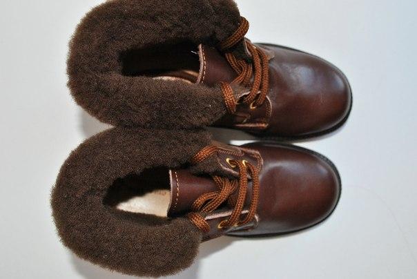 Фото 2: Зимние ботинки для девочек Pinocchio