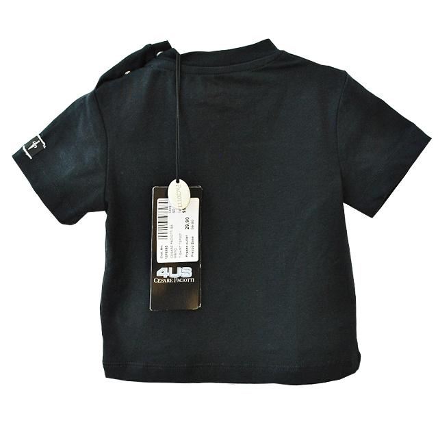 Фото 2: Черная футболка Cesare Paciotti