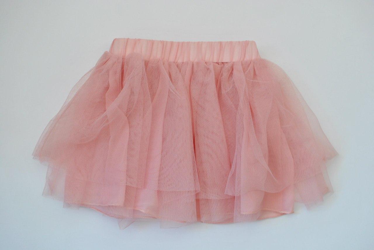 Фото 2: Детский комплект: футболка, юбка, кардиган для девочек