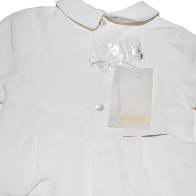 Фото 7: Белоснежный костюм для малышей Aletta