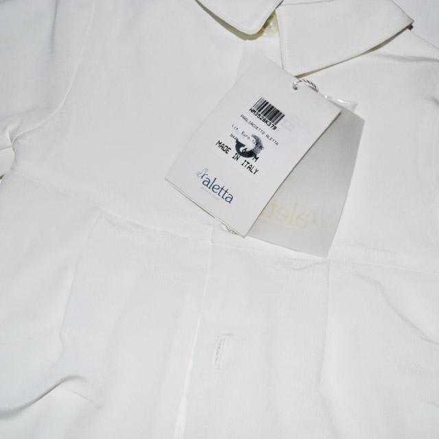 Фото 8: Белоснежный костюм для малышей Aletta