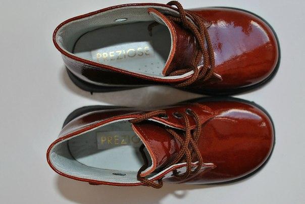 Фото 2: Ортопедические детские ботинки Preziose