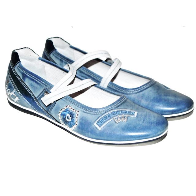 Фото 1: Кожаные туфли Nero Giardini для девочек
