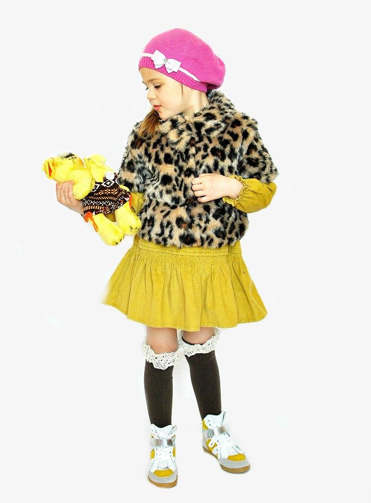 Фото 4: Леопардовая шубка с коротким рукавом TO BE TOO