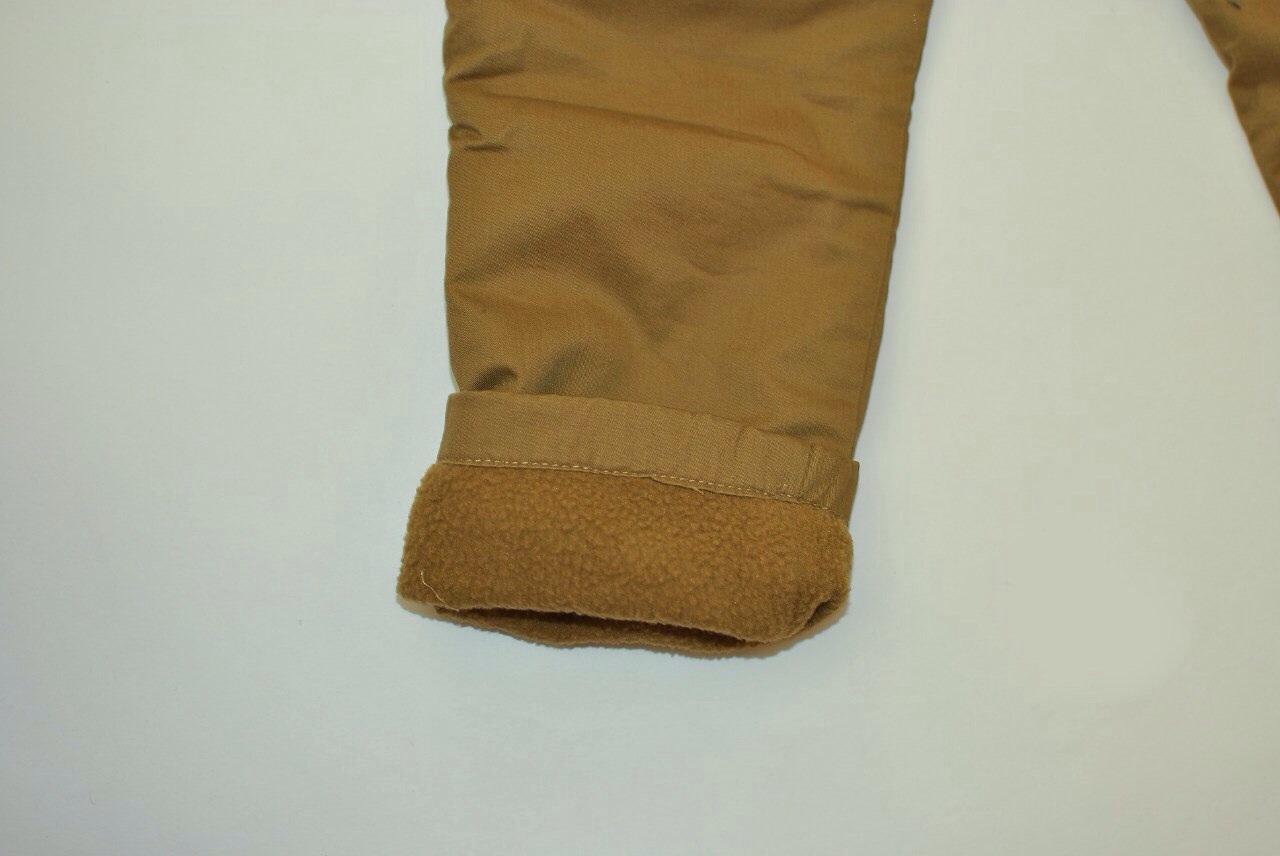 Фото 4: Утепленные детские брюки для девочек