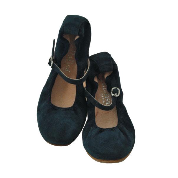 Фото 2: Синие туфли для девочек Ballalisa