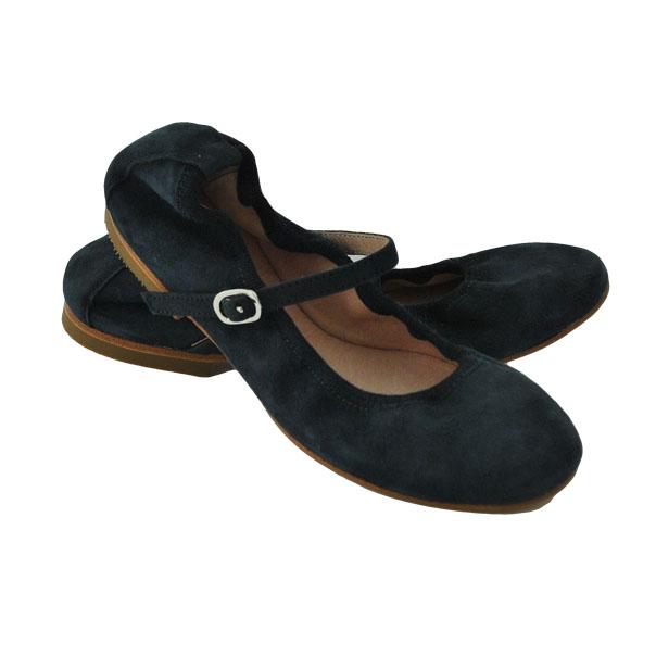 Фото 4: Синие туфли для девочек Ballalisa