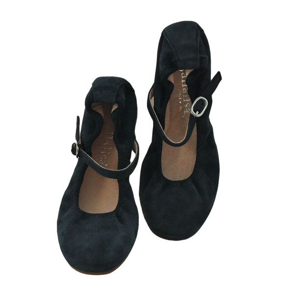 Фото 5: Синие туфли для девочек Ballalisa