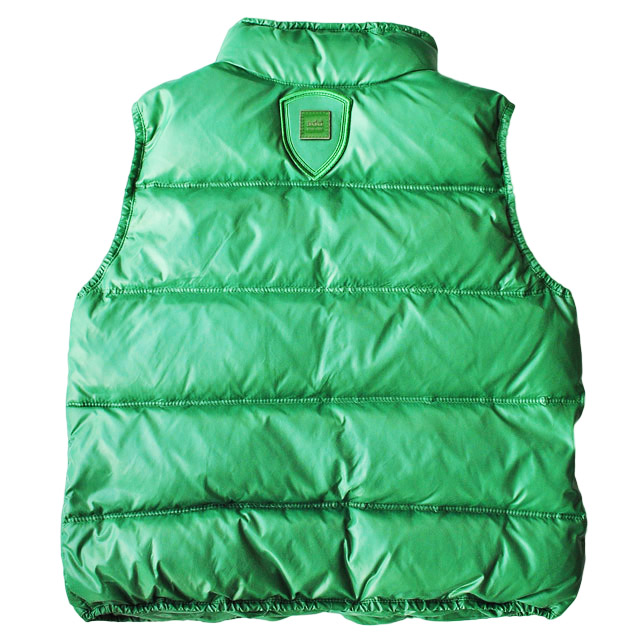 Фото 3: Пуховой жилет Аdd зеленого цвета