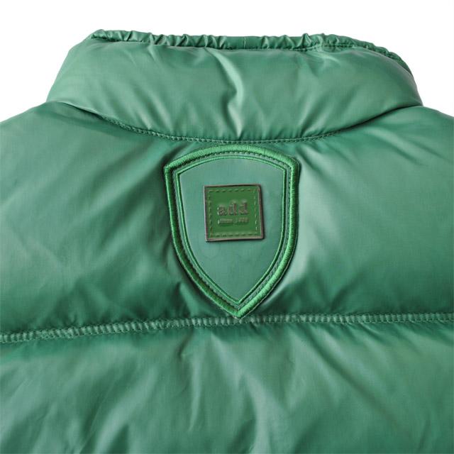Фото 1: Пуховой жилет Аdd зеленого цвета