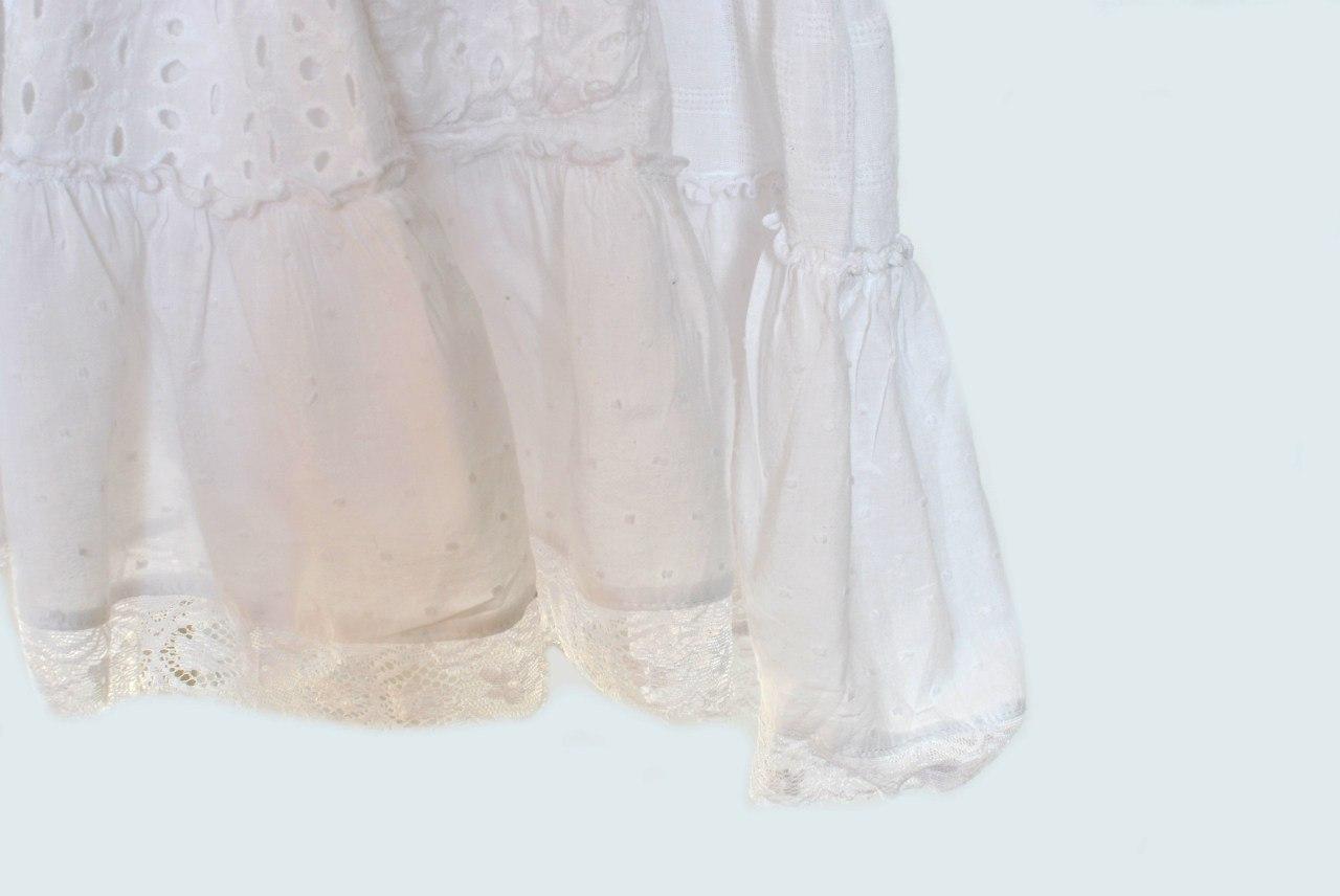 Фото 8: Белоснежное нарядное платье Next