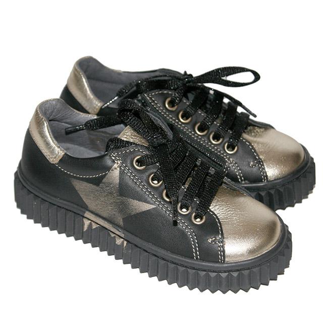 Кеды (Ботинки) Naturino в рок стиле. Фото: 1