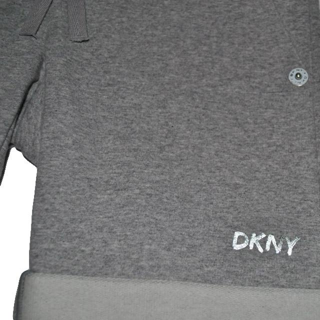 Фото 3: Серые шорты DKNY