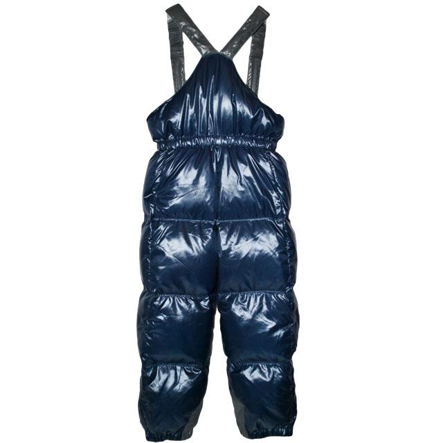 Фото 2: Детский полукомбинезон синего цвета