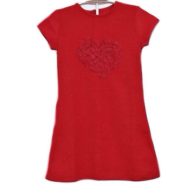 Фото 1. Красное платье Bambina (Go Kids)