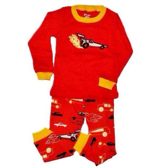 Фото 1: Красная пижама с рисунком Gap baby