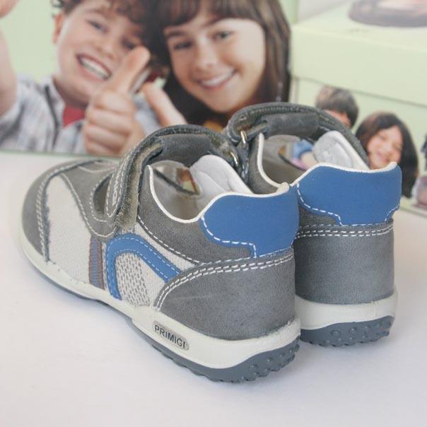 Фото 2: Кожаные туфли на мальчика Primigi