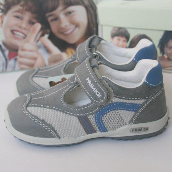 Фото 3: Кожаные туфли на мальчика Primigi