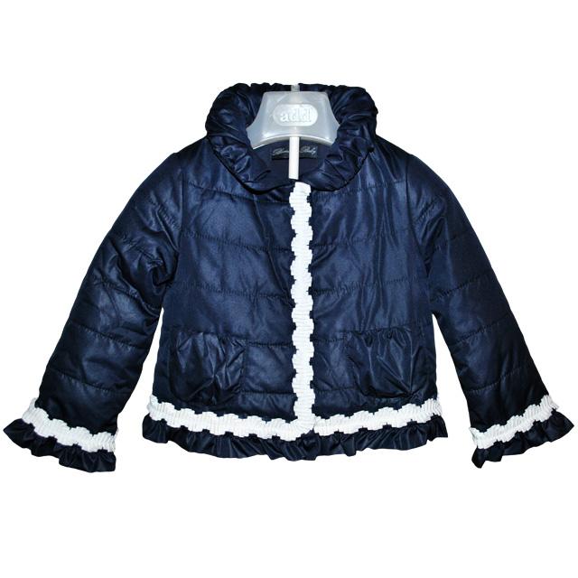 Фото 1: Синяя куртка Blumarine Baby для маленьких модниц