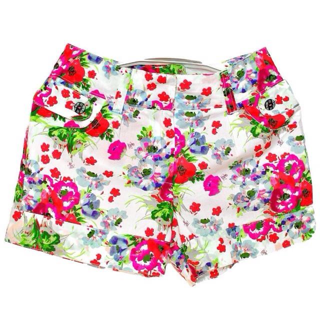 Фото 1: яркие шорты Kenzo для девочек