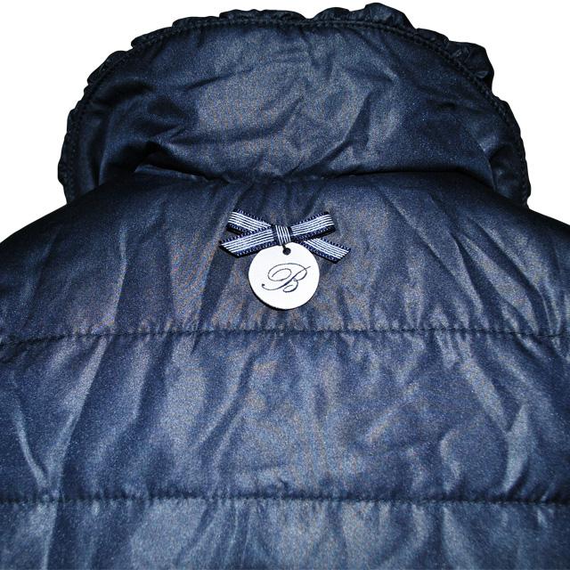 Фото 3: Синяя куртка  для маленьких модниц