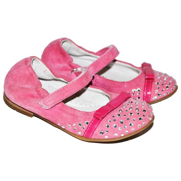 Фото 1: Розовые детские туфли Romagnoli