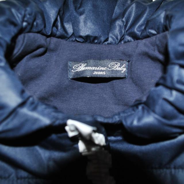 Фото 4: Синяя куртка Blumarine Baby для маленьких модниц