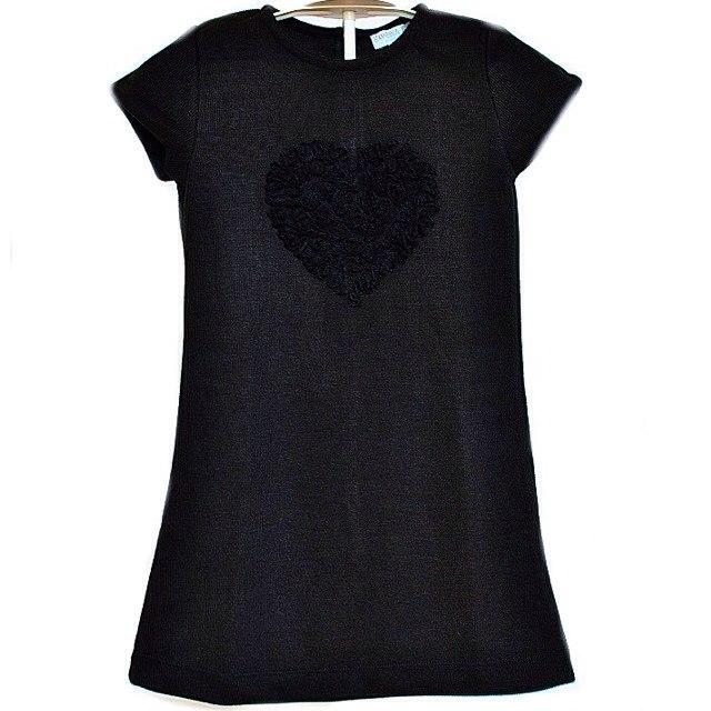 Фото 1. Черное платье Bambina (Go Kids)