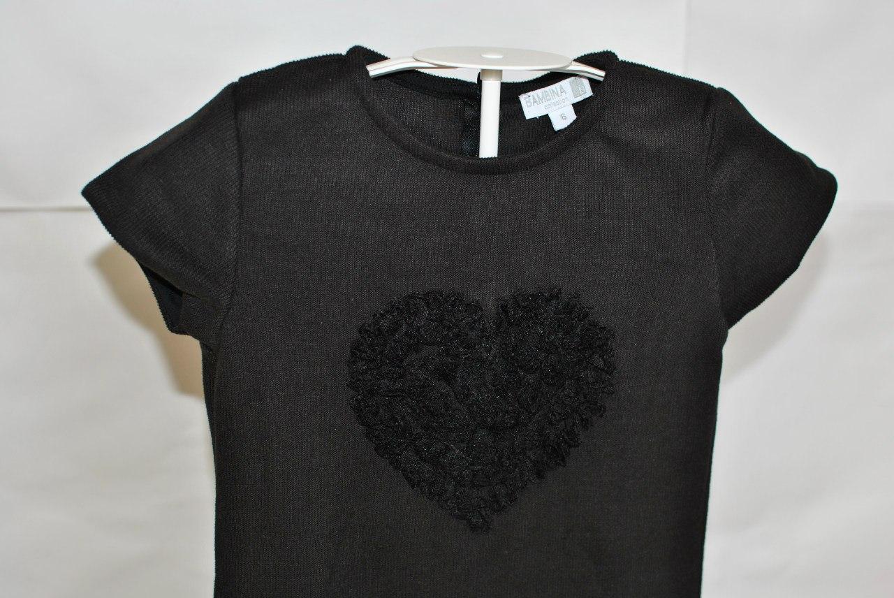 Фото 2. Черное платье Bambina (Go Kids)