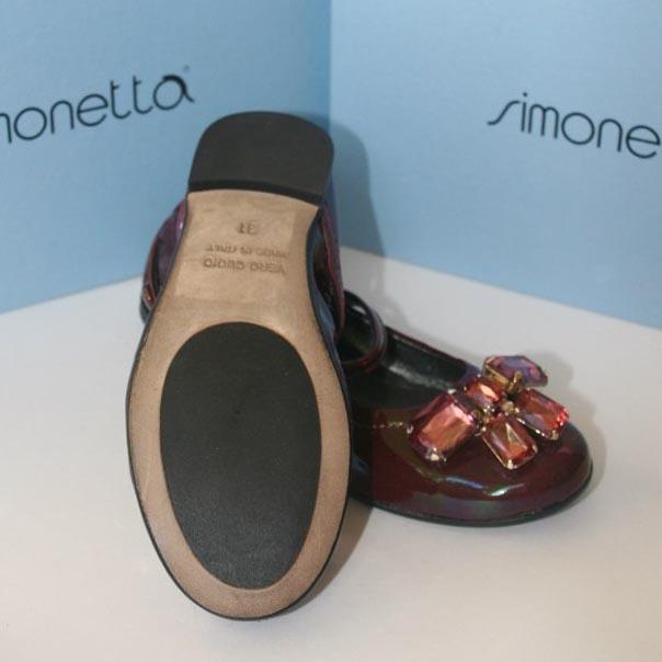 Фото 2: Туфли для девочек Simonetta лакированные
