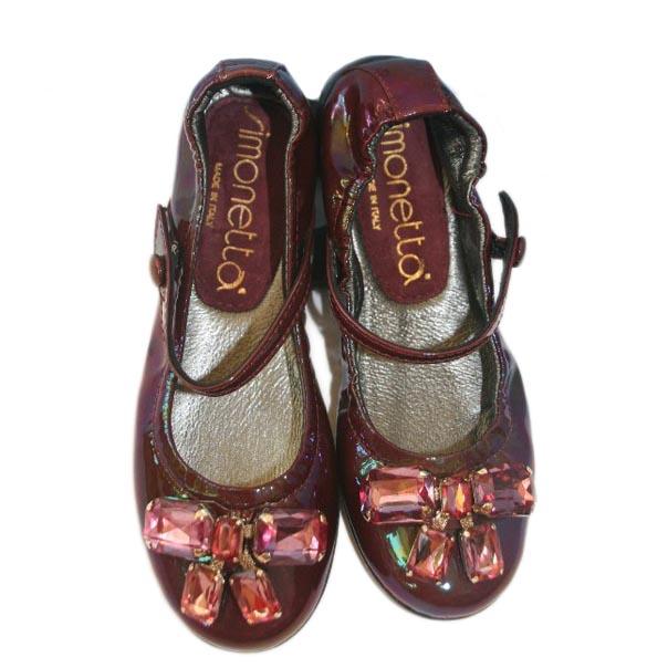 Фото 3: Туфли для девочек Simonetta лакированные