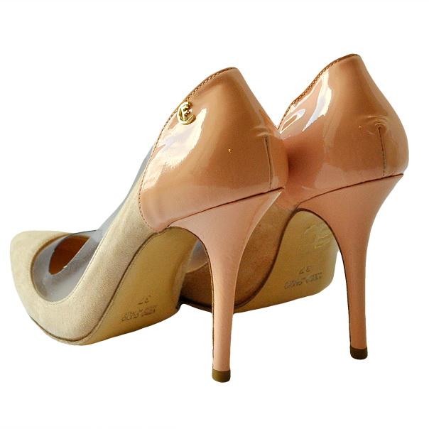 Туфли из замши высокого качества. Каблук шпилька. Картинка: 3