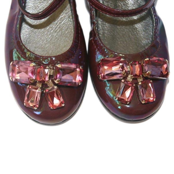 Фото 4: Туфли для девочек Simonetta лакированные