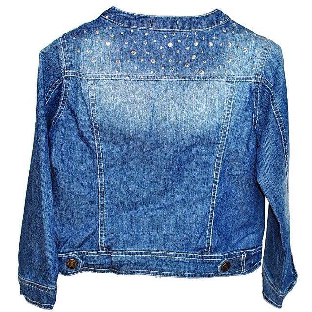 Фото 1: Пиджак джинсовый Miss Grant для девочек