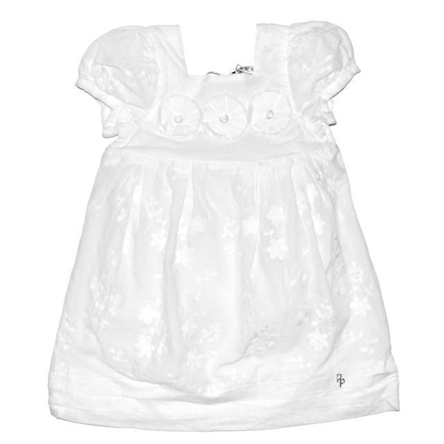 Фото 1: Нарядное белоснежное платье Patrizia Pepe для девочек