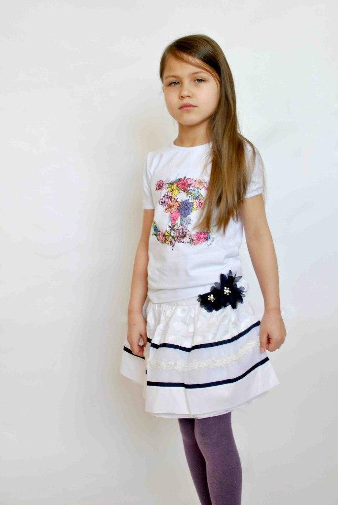 Фото 6: Пишная детская юбка ARTIGLI