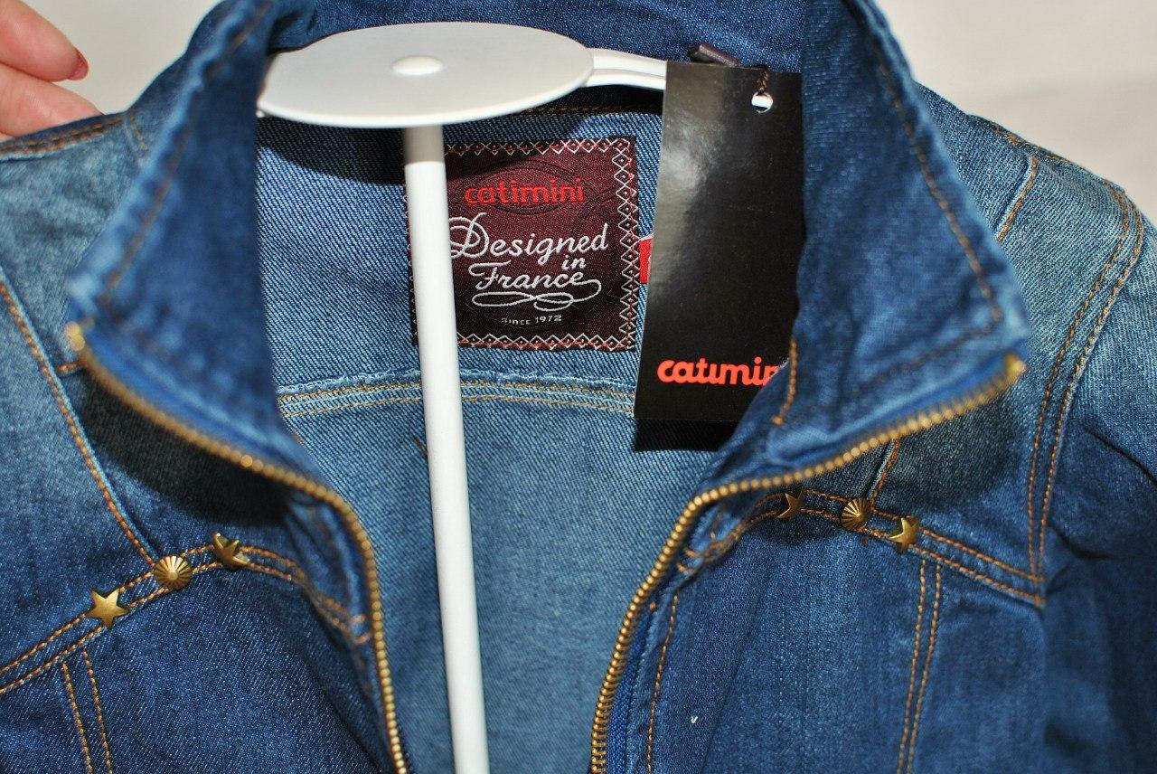 Фото: 6. Пиджак джинсовый Catimini для девочек