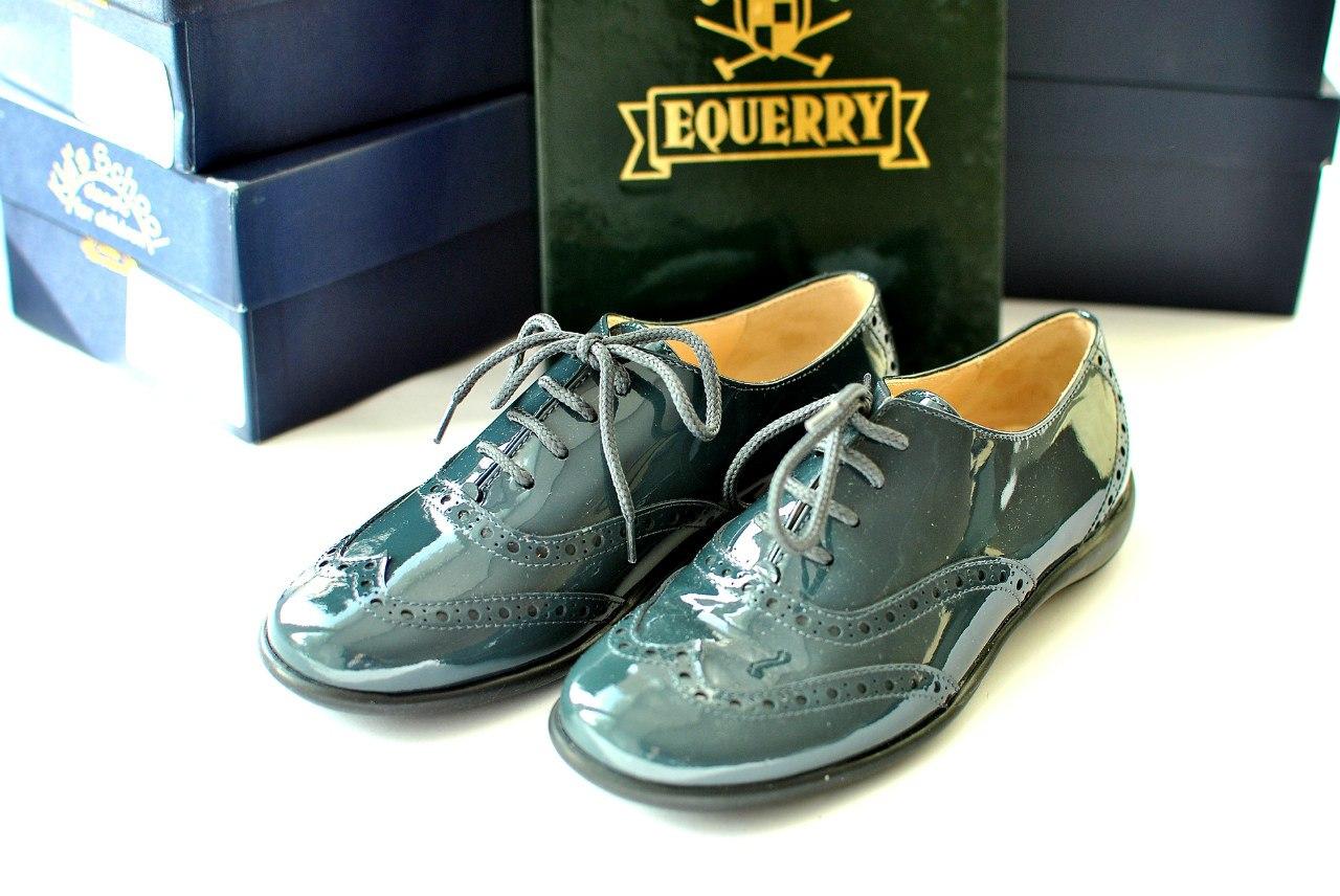 Фото 1: Нарядные туфли Equerry для девочек