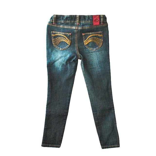 Фото 2: Классические джинсы Джинсы Catimini