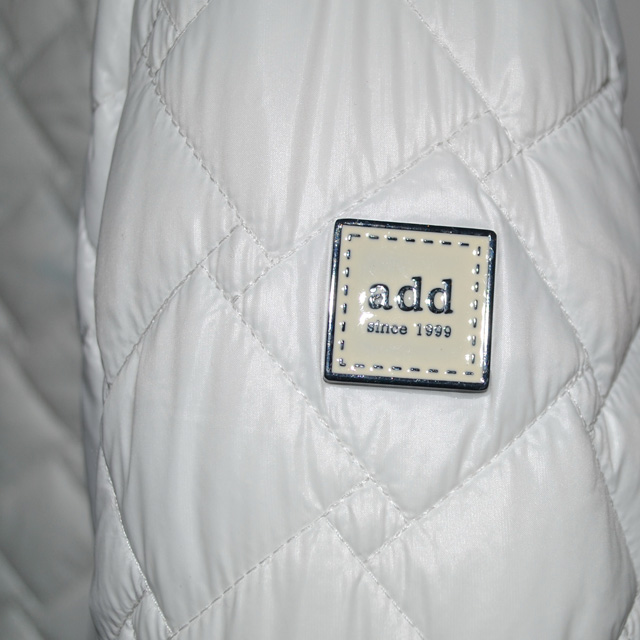 Фото 2: Белоснежный пуховик Аdd для девочек