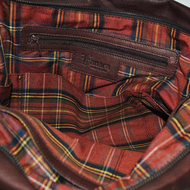 Оригинальная сумка из кожи теленка. Насыщено-бургундский цвет. Сделано в Италии. Фото 4