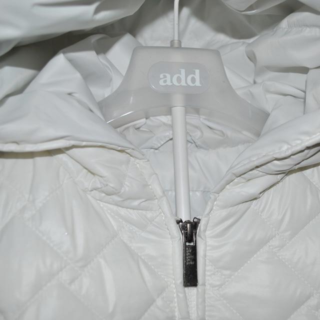 Фото 3: Белоснежный пуховик Аdd для девочек