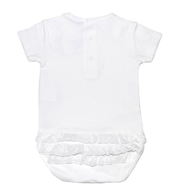 Фото 2: Качественное белое боди Cacharell для малышей