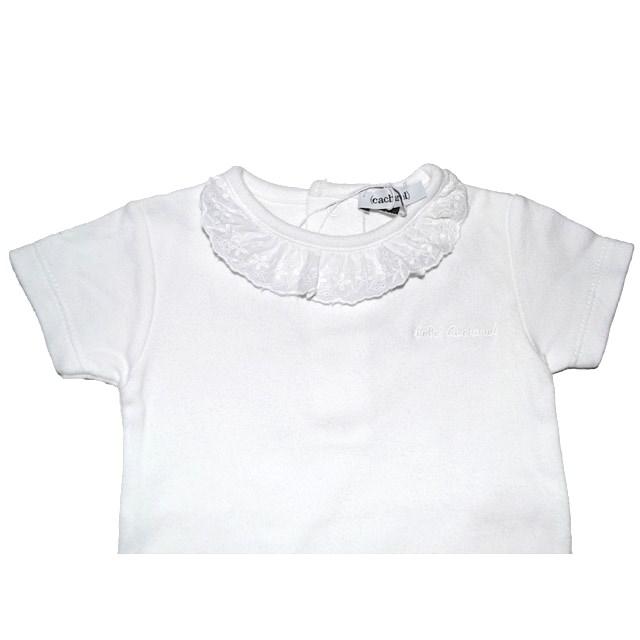 Фото 3: Качественное белое боди Cacharell для малышей