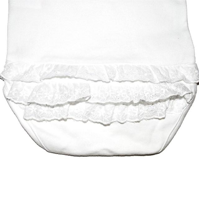 Фото 4: Качественное белое боди Cacharell для малышей