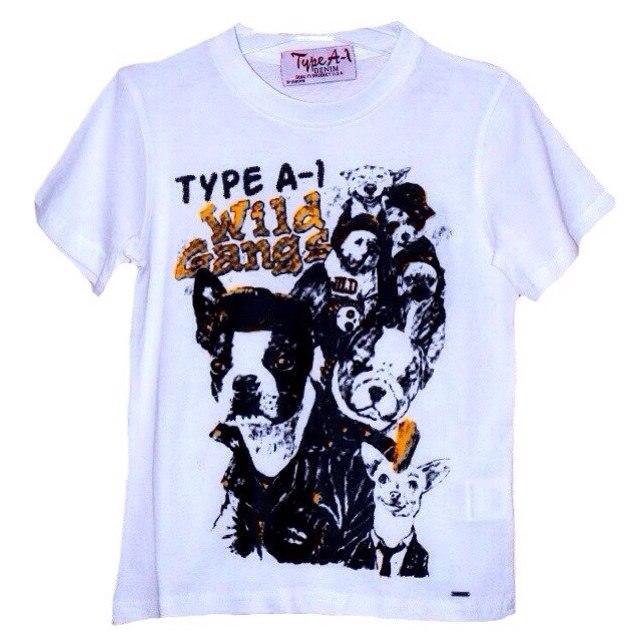 Фото 1: Белая футболка Type A-1 с рисунком