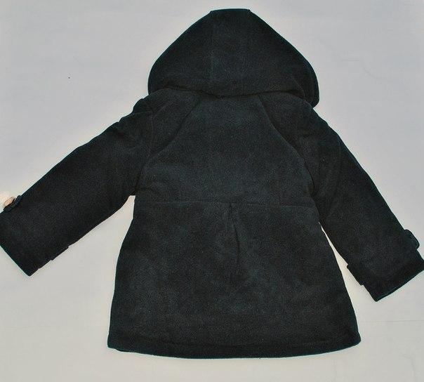 Фото 2: Немного утепленное серое пальто Ativo